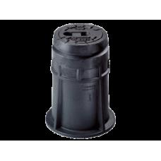 Ковер для задвижек типа Комби III и IV телескопический DN 100 - 200 из ковкого чугуна bitumiert тип 4550