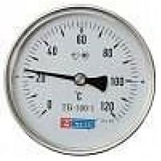 Термометры биметаллические общетехнические тип ТБ-1 осевое исполнение
