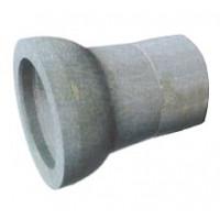 Патрубок чугунный  раструб-гладкий конец с переходом на сталь 100 (ПРГ-сталь)
