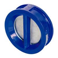 Клапан обратный двустворчатый межфланцевый тип 010С DN100